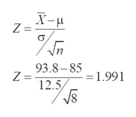 Z = 3 Vn 93.8-85 1991 Z = 12.5 =1