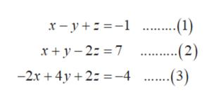 ..-1) x-y x+ y 2: 7 (2) ..-3) -2r+4y2-4