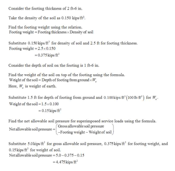 Answered: Problem #1Design a square footing to… | bartleby