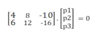 p1] 4 8 -10.|p2 0 6 12 -16 [p3]
