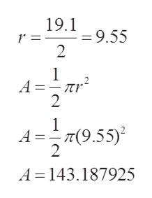 19.1 9.55 2 1 А—— лу- 2 1 АD— т(9.55)° 2 А 3D 143.187925 N N