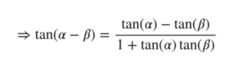 tan(a)tanp) tan(a )1+ tan(@) tan(B)