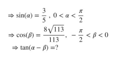 3 sin(a) 0a< 8VI13 2 cos(B) 113 2 tan(a )?