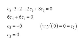 сз -3-2-2с, + 8c, %3D0 бс, + бс, %3D0 (:У(0)-0-с) Сз %3-0 С, 30