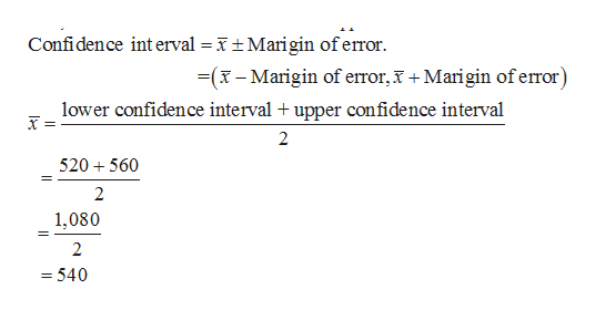 Answered: Determine the margin of error An… | bartleby