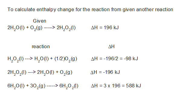 Answered: A chemist measures the enthalpy change… | bartleby