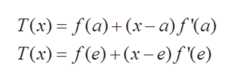 T(x) — F(a)+ (x-а) f(а) T(x) (e)(x-e)f'(e)