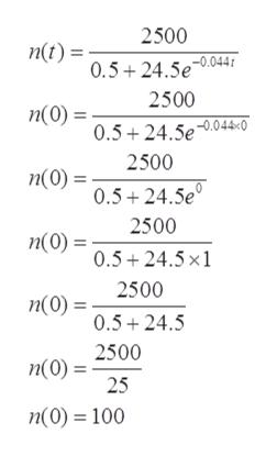 2500 nt)5+24.5e04f 2500 п(0) %3 0.5+24.5e.044«0° 2500 п(0) - 0.5+24.5e 2500 п(0) 0.5 24.5x1 2500 n(0)= 0.5 24.5 n(0)2500 25 n(0)=100