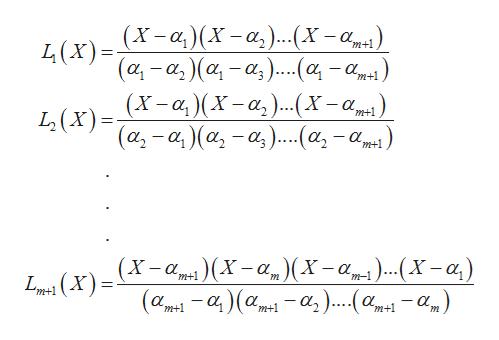 L(x)-X-a)(X-a,)...(X-a LX)-α-αα-α)...(ατα.. m+1 _ m+1 (X-a)X-a,)(x-a L(X)=a,-a, )(a,-a).(a,-) m+1 m+1 -a(X-a (X-a)...Xa,) X -а, _ m-1 m+1 m 1(X) -α-α α.α, )... (α.αμ) m+1 -a) m+1 m+1 m+1 m