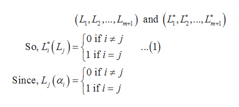 and (4.5. (4.L. 0 if i j .1) if i= j m+1 So, LL 1 if i = j [0 if i Since, L, ()1 if i = j