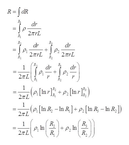 R dR dr 2TrL dr dr 2TrL R2 2rL dr dr 2TL 1 (Ps[In r] P2 27TL 1 -(P[In R, -In RP[In R - In R, ]) 27TL R In R. 1 In R,