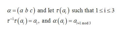 a (a b c) and let r(a) such that 1 sis3 r(a) a and a(a)= a1 md3