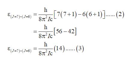 h [7(7+1)- 6(6+1)]..2) EJ-J6) h [56-42] h (14).(3) EJ-HJ6) 8T2Ic