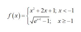 |x 2x1x< -1 f(x)= 1; x2-1