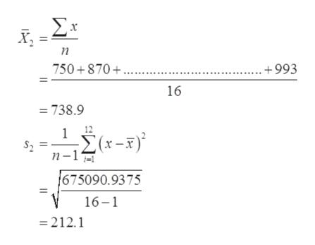 ΣΣ 750+870+.... +993 16 738.9 1 Σα-3) n-1 675090.9375 16-1 =212.1