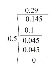 0.29 0.145 0.1 0.5 0.045 0.045 0