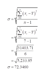 Σ- ) σΕ n-1 Σ&-5 7-1 Β1403.71 6 5.233.95 σ- 72.3460