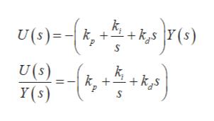 ksY(s U(6)= k+ U (s) Y(s)