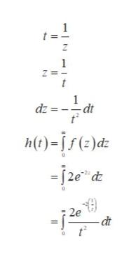1 t 1 - dt dz = h)-i5)dE -j2e d 2e dt
