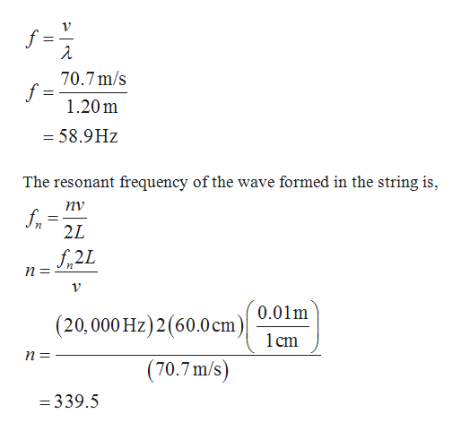 Physics homework question answer, step 2, image 1