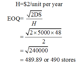 Operations Management homework question answer, step 2, image 1
