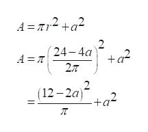 A =2 +a2 2 24 4a +q2 A T 2 (12-2a) +q2