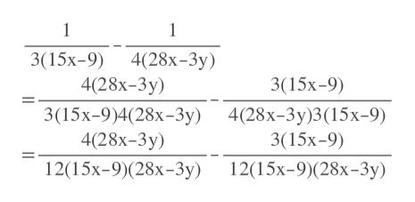 1 1 3(15х-9) 4(28х-3у) 4(28х-3у) 3(15х-9) 3(15х-9)4(28х-3у) 4(28х-3у)3(15х-9) 4(28х-3у) 3(15х-9) 12(15х-9)(28х-3у) 12(15х-9)(28х-3у)