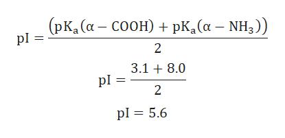 (рк, (а — соон) + pk, (а — NH,)) pl 2 3.18.0 pl 2 pl 5.6