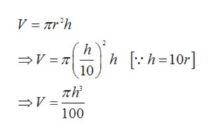 V Trh h hh=10r] 10 V = 7 V = 100