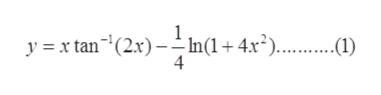 yx tan(2.x)--In(1+ 4x*).... 4 ) ..0)