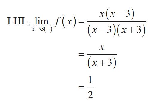 x(x-3) LHL, limfx)(x-3)(x+3) x-3( х (x +3) 2 l