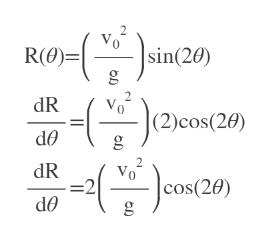 2. Vo R(O)=| |sin(20) 2 dR |(2)cos(20) dR =2 cos(20)