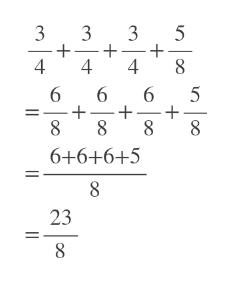 3 5 + 4 3 4 4 6 5 6 8 6+6+6+5 8 23