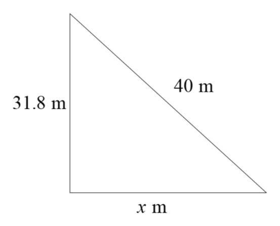 40 m 31.8 m х т