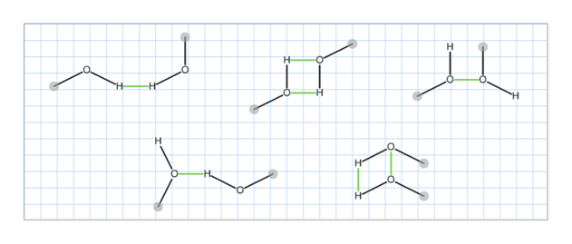 Answered: Several methanol (CH3OH) dimers are… | bartleby