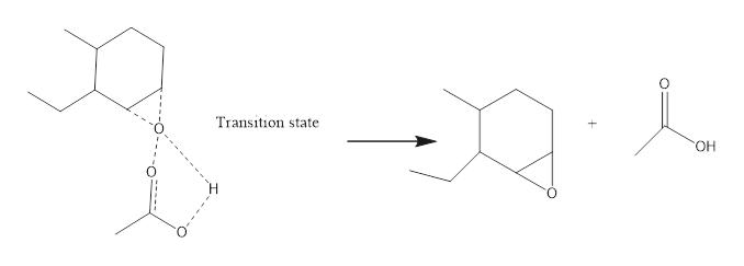 Transition state OH