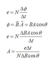 e N ΔΜ φ= Β.4-ΒA cos θ , ΔΒΑ cos θ e = N Δt eAt A = ΝΔBcos θ
