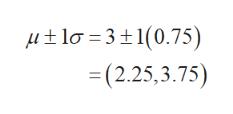 lo 31(0.75) =(2.25,3.75)