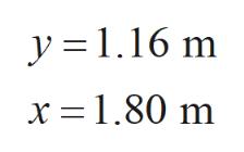 y =1.16 m x 1.80 m
