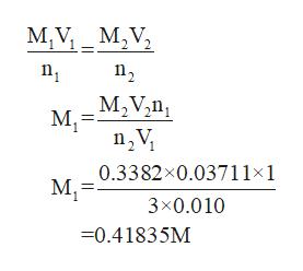 M,V MV M2Vzn М 0.3382x0.03711x1 М 3x0.010 0.41835M