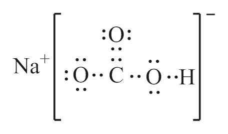 Answered: What is the lewis structure for sodium… | bartleby