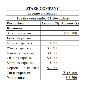 insurance expense income statement