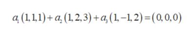 a (11,1a (12,3) a,(1-1,2)= (0,0,0)