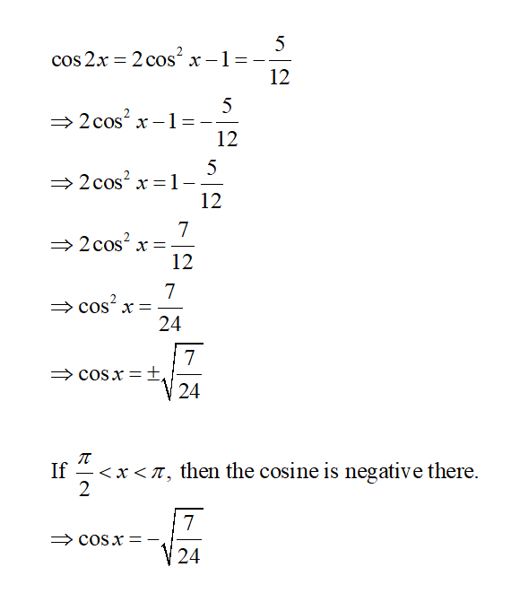 Trigonometry homework question answer, step 2, image 1