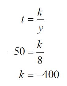k t = У k -50 k =-400