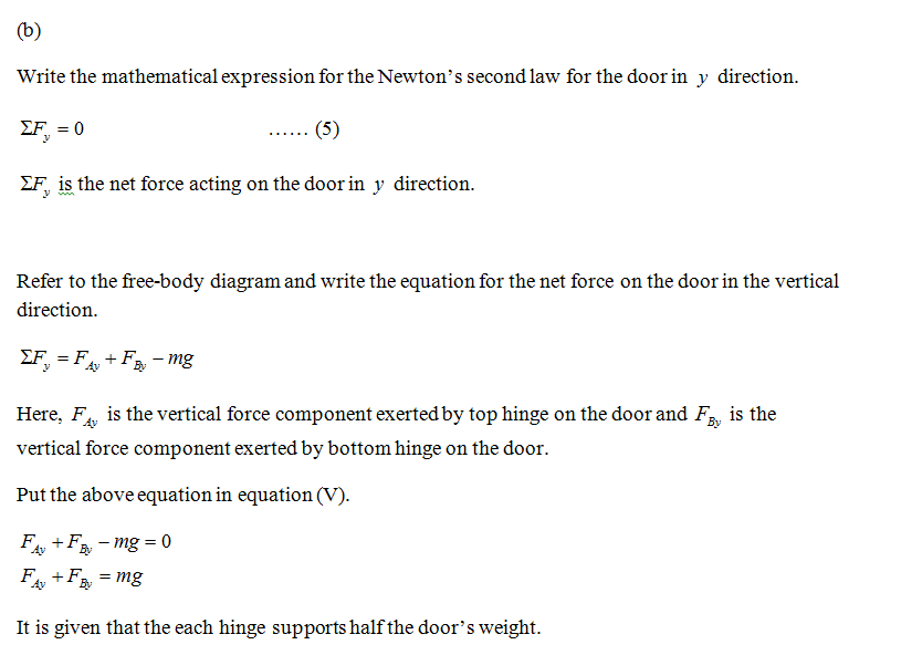 Physics homework question answer, step 3, image 1