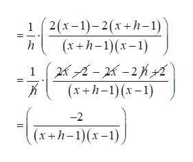 2(х-1)- 2(х+h-1 (х +h-1)(х-1) h 21-28 -2К (х+h-1)(х-1) -2 (х+h-1)(х-1),