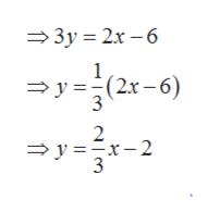 — Зу 3D 2х -6 1 — у 33(2х -6) 3 2 —у %3Dх-2