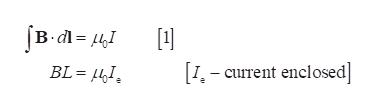 BL= 4I I-current enclosed]