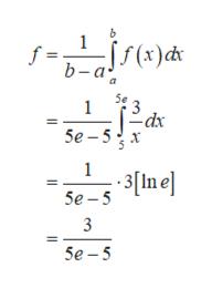 f = b-a(t)d 1 dx Se -5 х 1 Se In e 3 5e-5